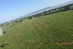 Balatonkeresztúr repülőtér légifotója