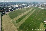 Budaörs repülőtér légifotója