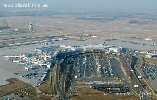 Budapest Liszt Ferenc Nemzetközi Repülőtér repülőtér légifotója