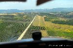 Eger repülőtér légifotója