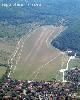Hármashatárhegy repülőtér légifotója