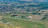 Jakabszállás repülőtér légifotója