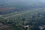 Kiskunlacháza repülőtér légifotója