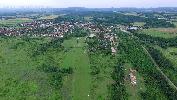Rétság repülőtér légifotója
