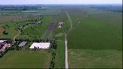 Tápiószentmárton repülőtér légifotója